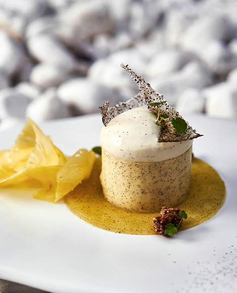 recette norohy vanille infusion dessert assiette ananas lesage 1