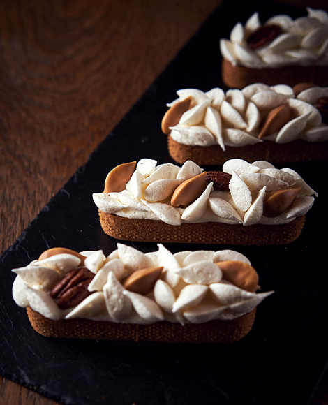 recette norohy vanille infusion tarte praline pecan haelewyn